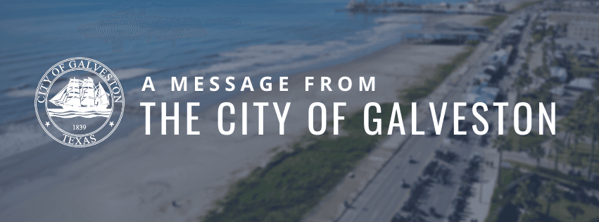 Message from the City graphic