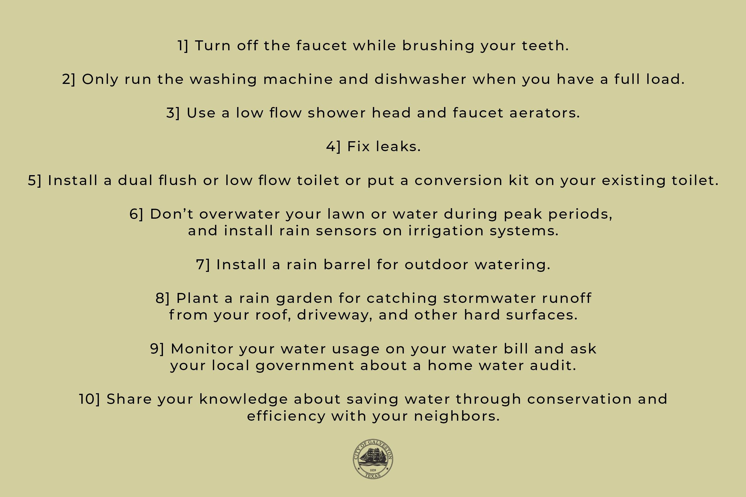 water conservation 2