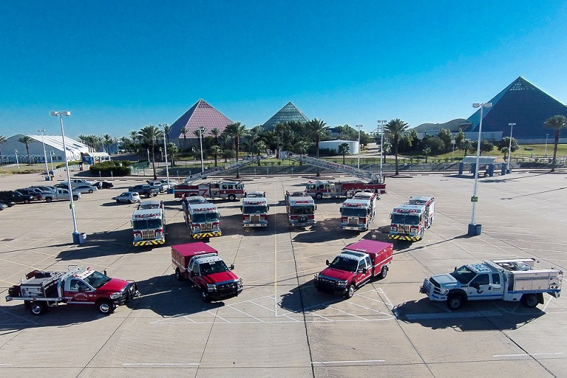 2014 Galveston Fire Department Apparatus Fleet