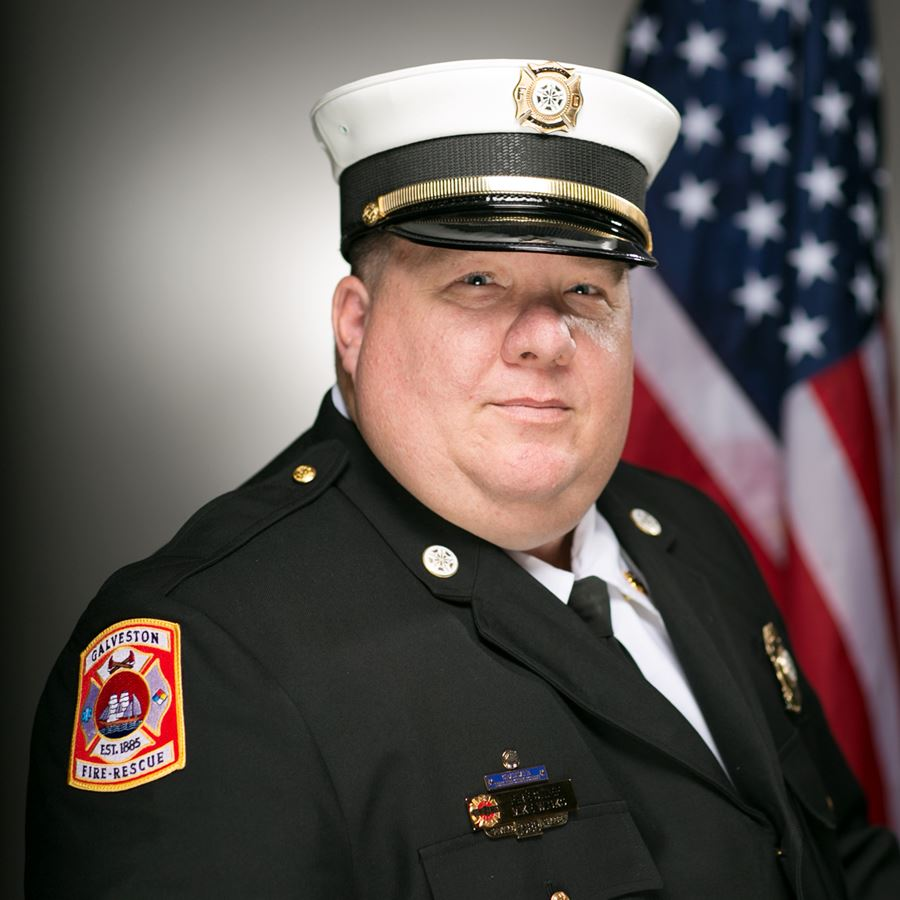 Photo of Fire Chief Wisko
