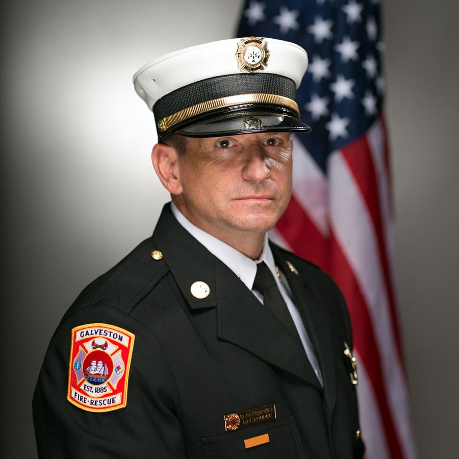 Photo Of Battalion Chief Mel Rourke