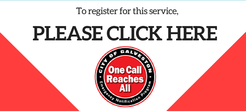 Register for &#34One Call, Reaches All&#34 to receive emergency alerts at https://portalv4.swiftreac