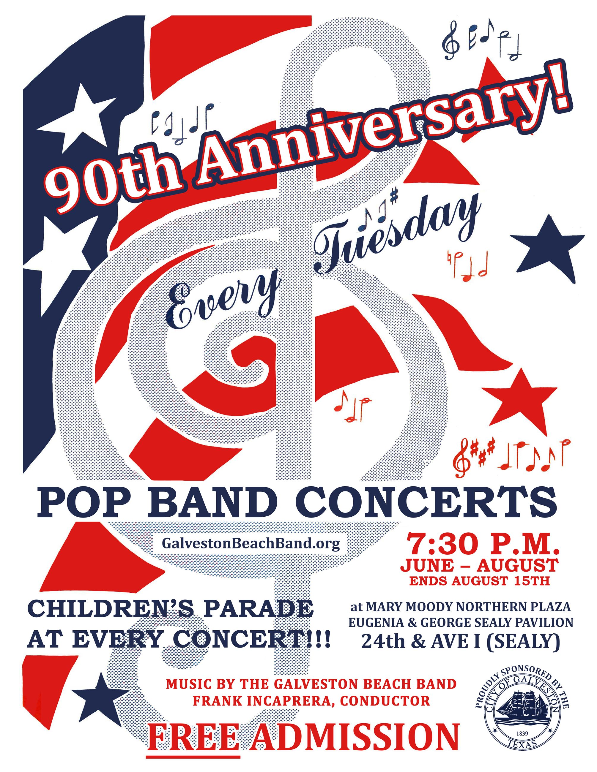 Summer Band Concerts 90th Anniversary
