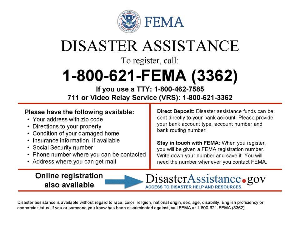 Disaster Assistance Galveston Tx Official Website