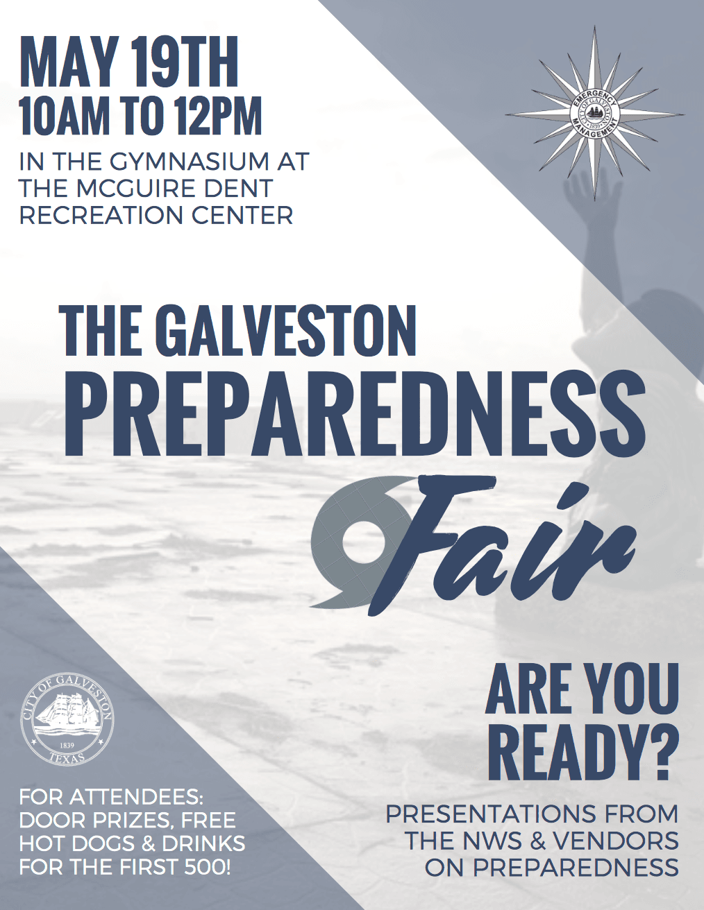 Galveston's Hurricane Preparedness Fair Set for Saturday, May 19th