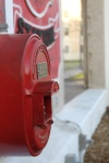 Photo of a fire alarm box