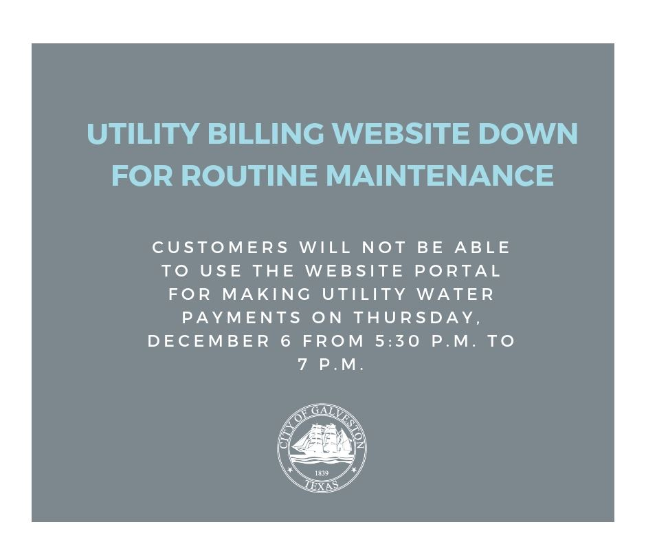 Utility billing maintenance