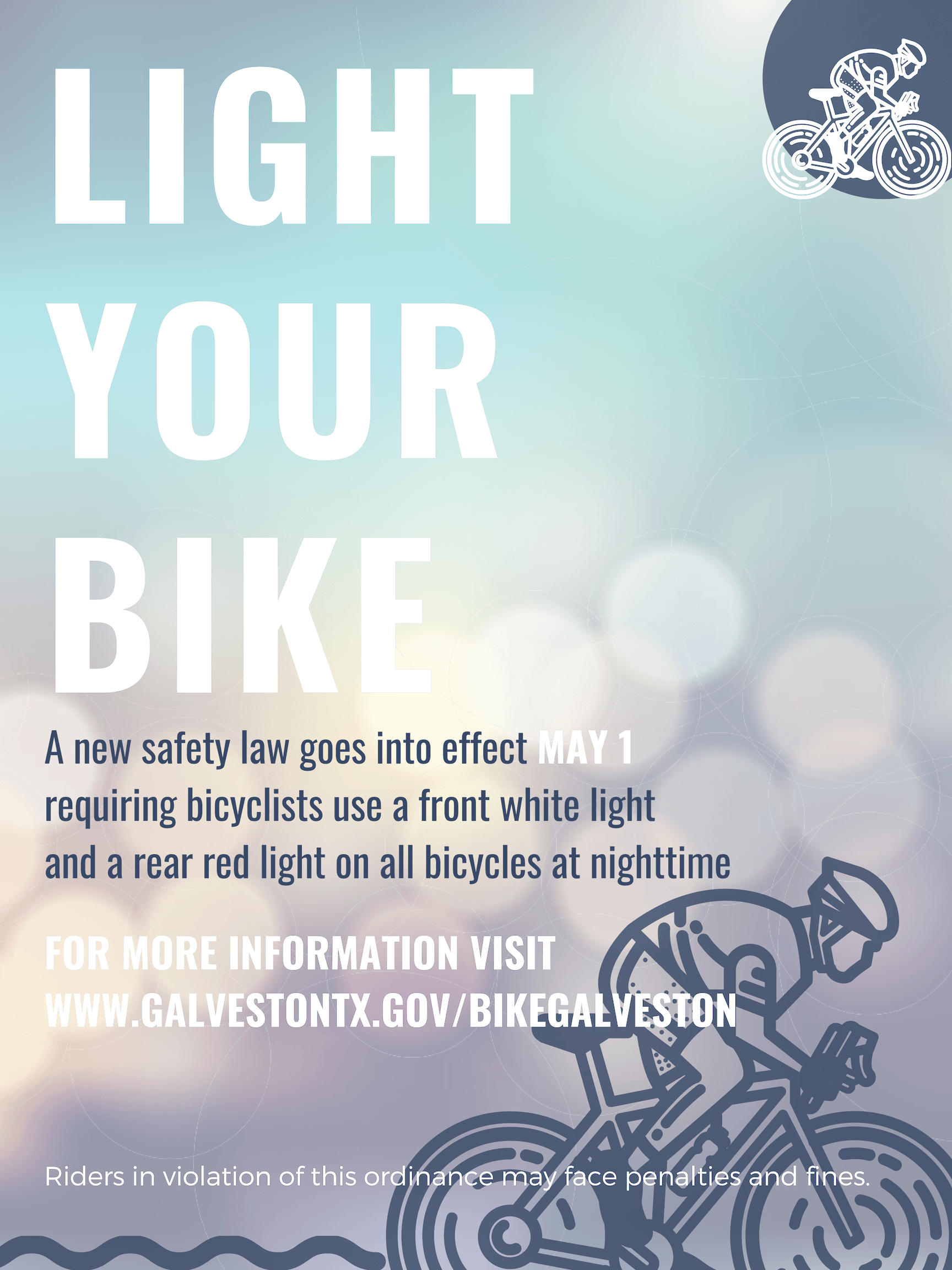 Light your bike edit