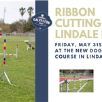 Ribbon Cutting for Dog Agility Course at Lindale Park