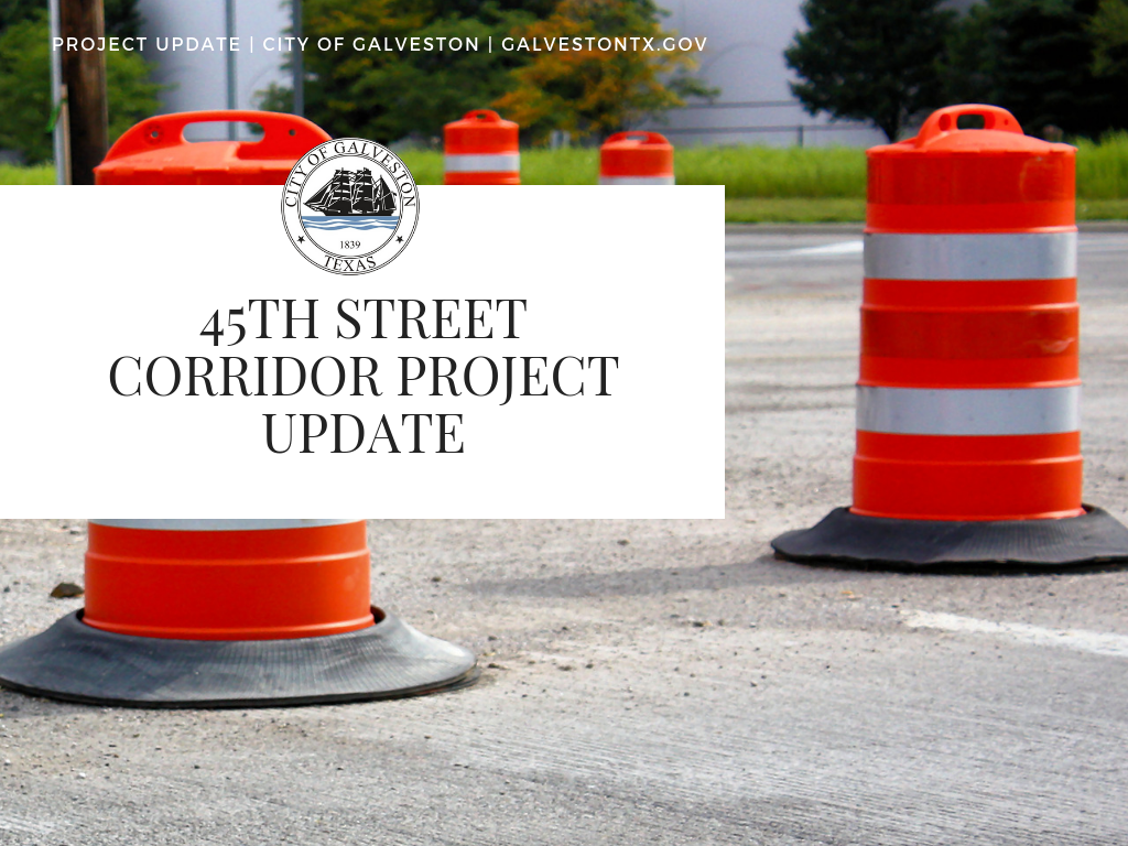 City announces rolling road closures this month on 45th Street